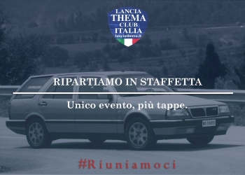 RIPARTIAMO IN STAFFETTA
